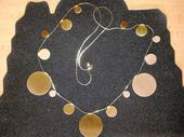 Nenosený náhrdelník + náramok,