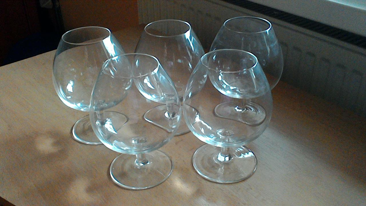 Veľké koňakové poháre - Obrázok č. 1