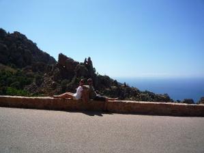 ...naše druhé výročie sme si pripomenuli na Korsike...