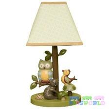 lampa na komodu k postieľke...
