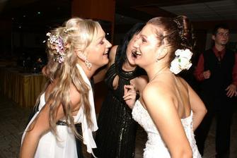 a šalenie so sestričkou...