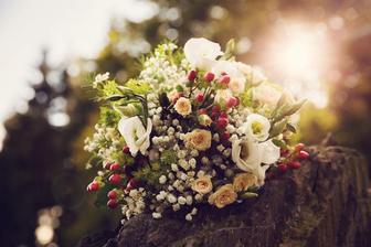 Krásná kytice ještě krásnější nevěsty @valentovakacka