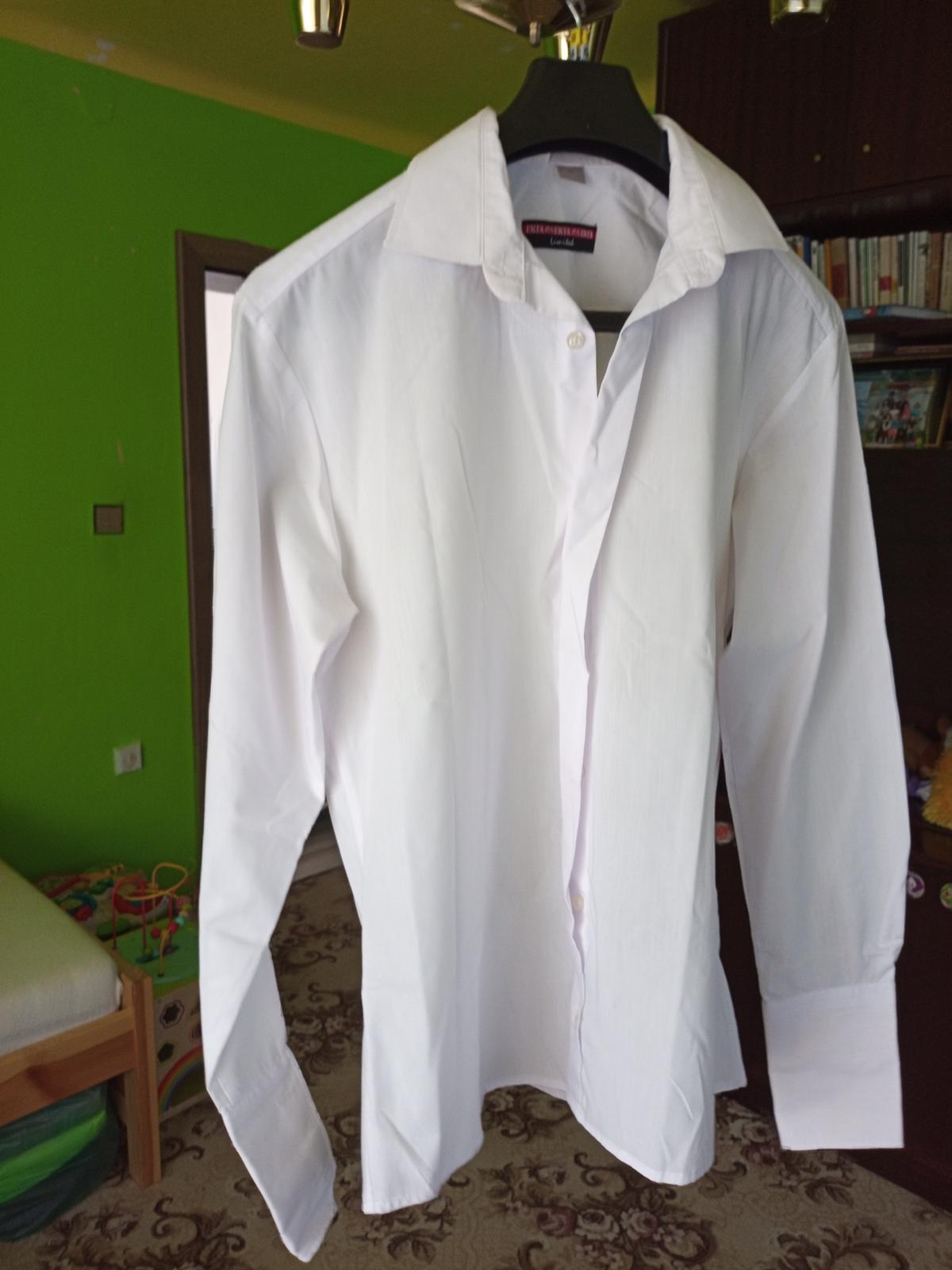 Biela košeľa - Obrázok č. 1
