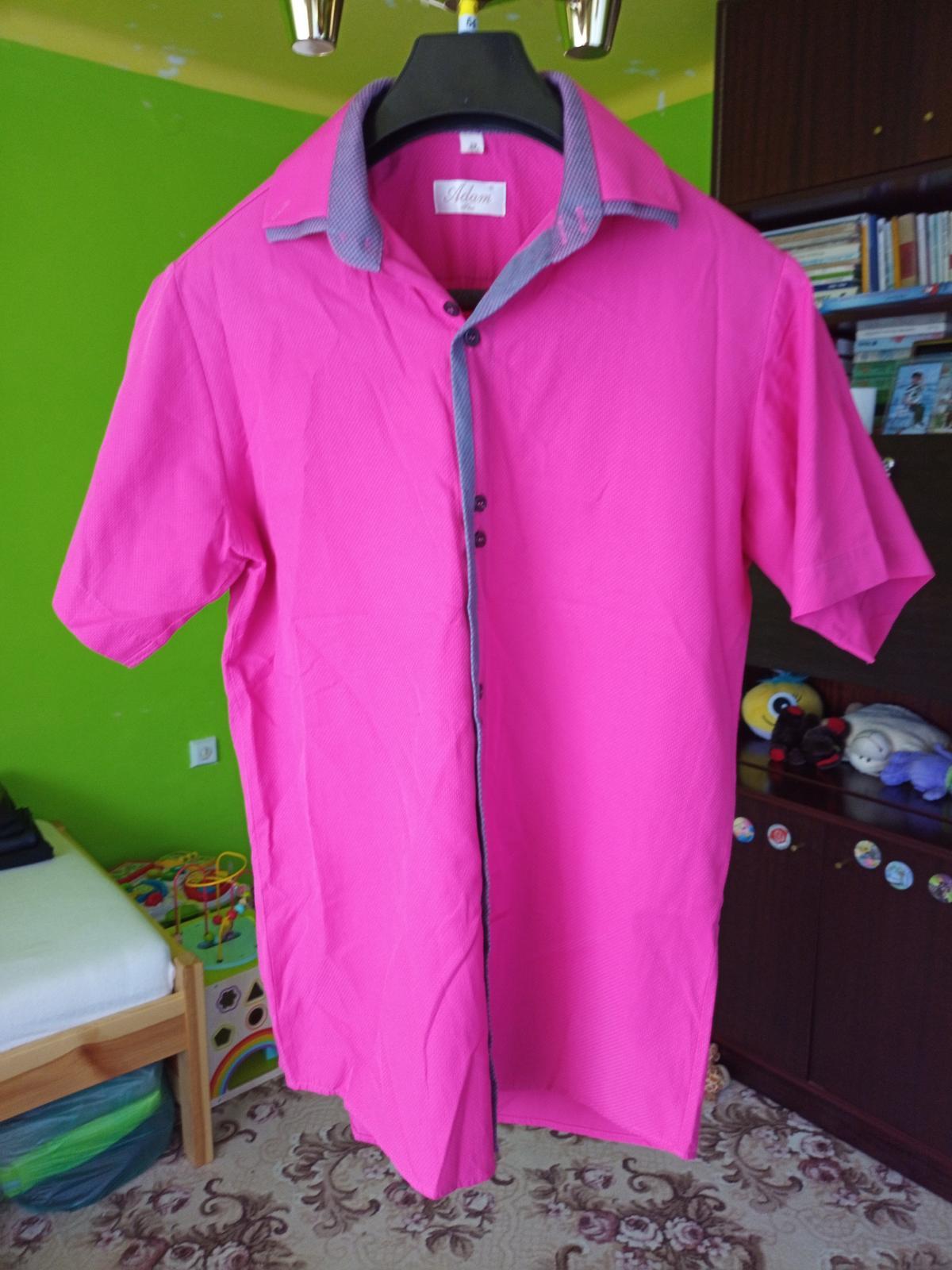 Cyklamenová  košeľa - Obrázok č. 1