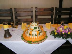 náš vynikající dort...byl prostě výborný