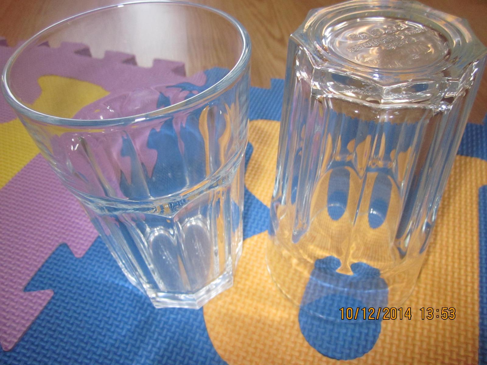 2x pohar na mochito alebo mieš.drink hrube sklo  - Obrázok č. 1