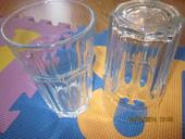 2x pohar na mochito alebo mieš.drink hrube sklo ,