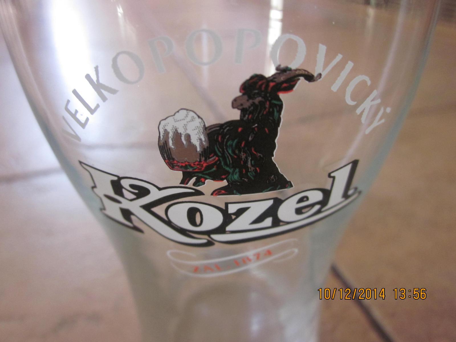 pohár na pivko kozel 0,33l  - Obrázok č. 1