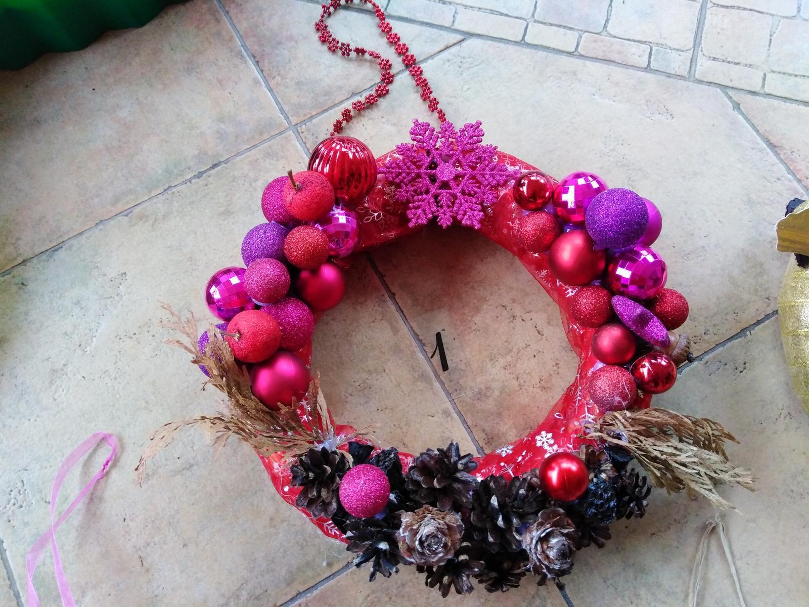 vianočne dekorácie  - Obrázok č. 1