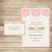 Svadobné oznámenie a pozvánka SO017,