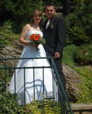 Martinka a její svatba 1.8. v Jablonci nad Nisou