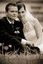 Žanetka a její svatba 16.8. na zámku v Buchlovicích
