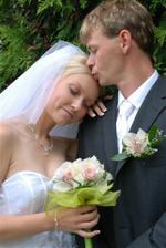 Laděnka a její svatba 2.8. v jičínském zámku