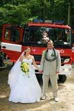 Anetka a její svatba 23.8. na zámku Konopiště