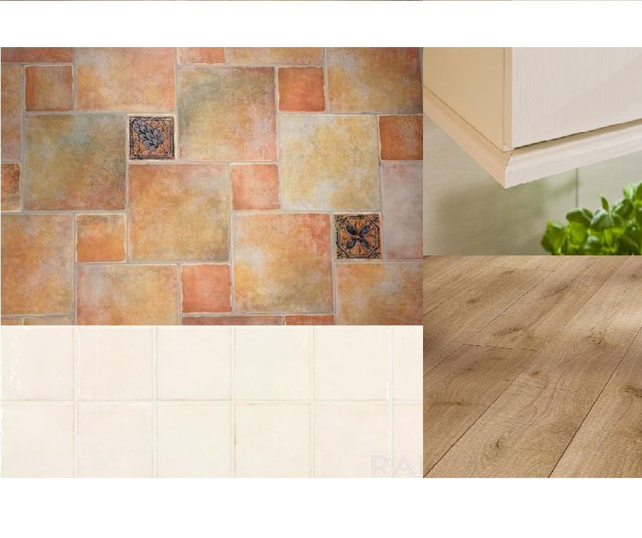 Interiér - kombinácia aj s podlahou v obyvačke