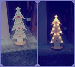 Vianočná dekorácia ;) vyrobené pre mamku