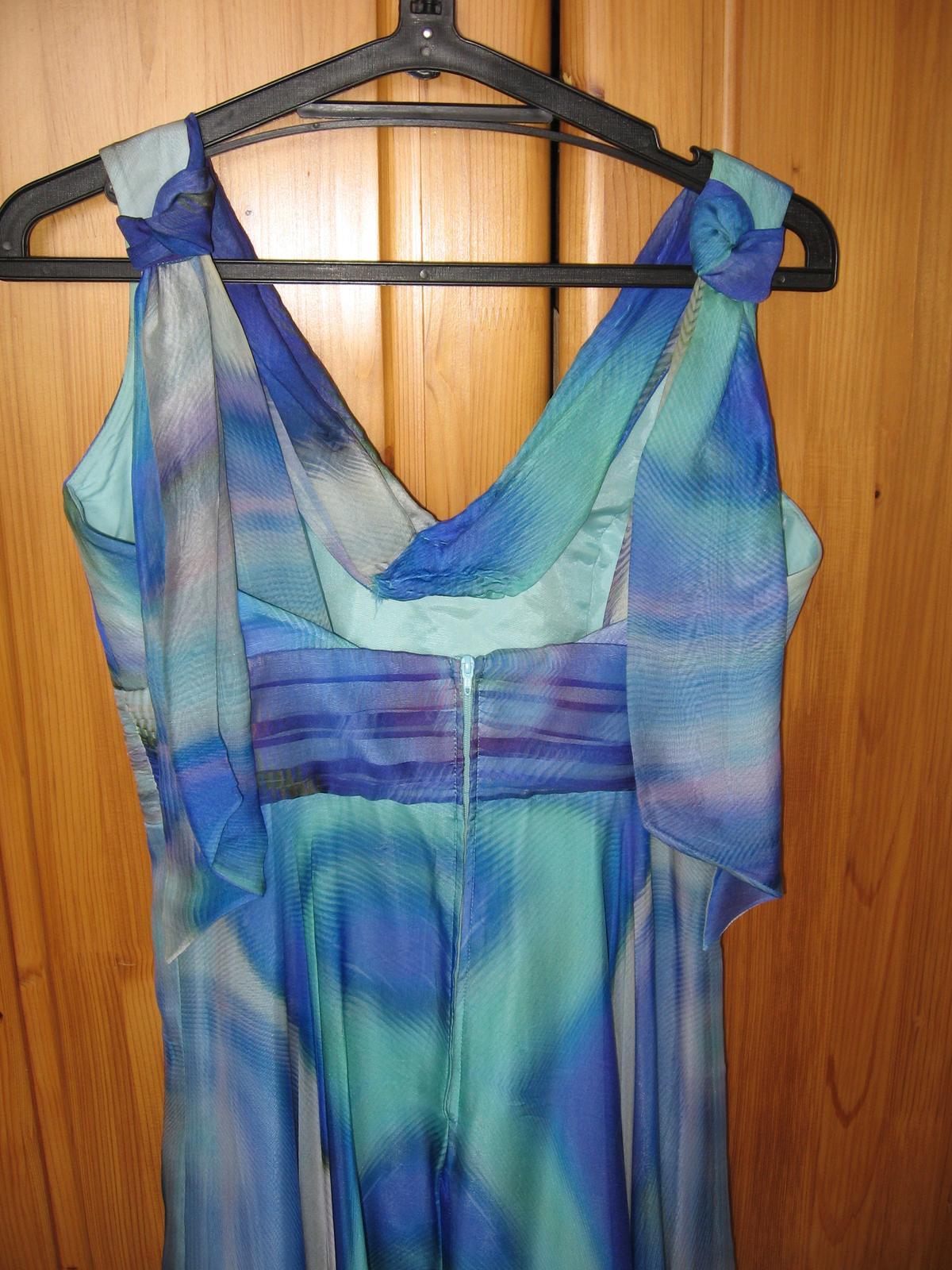 Hodvábne farebné šaty - Obrázok č. 2