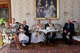 zámecká rodinka:-)