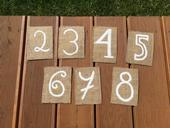 Čísla stolů 2-8,