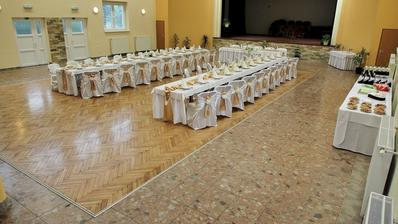 Naša svadobna sala. Kulturny dom v Diviackej novej Vsi