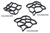 plastové formy na výrobu dlažby,