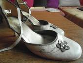 kremovo-zlaté topánky, 38
