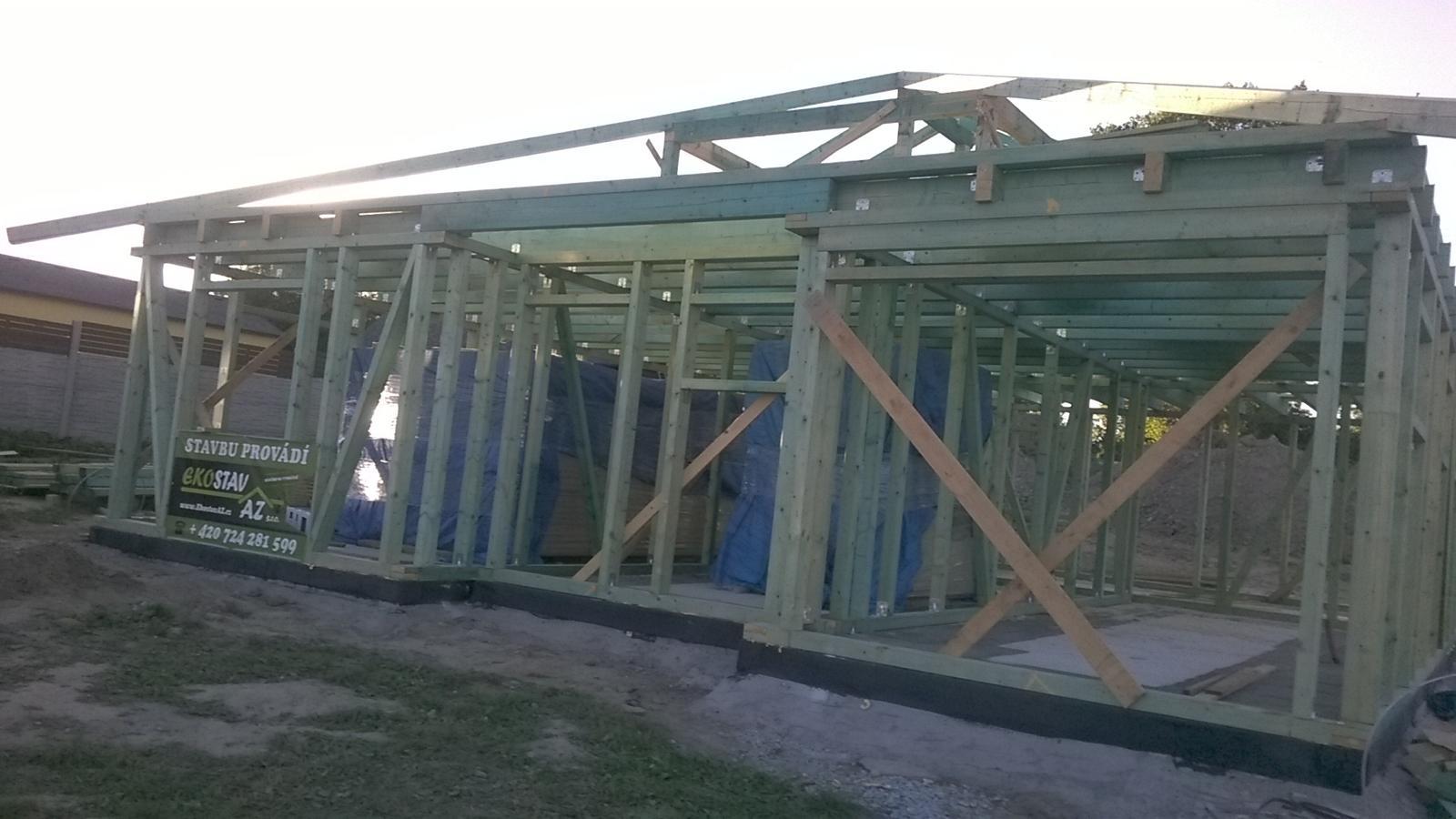 Stavba dřevostavby - Obrázek č. 10