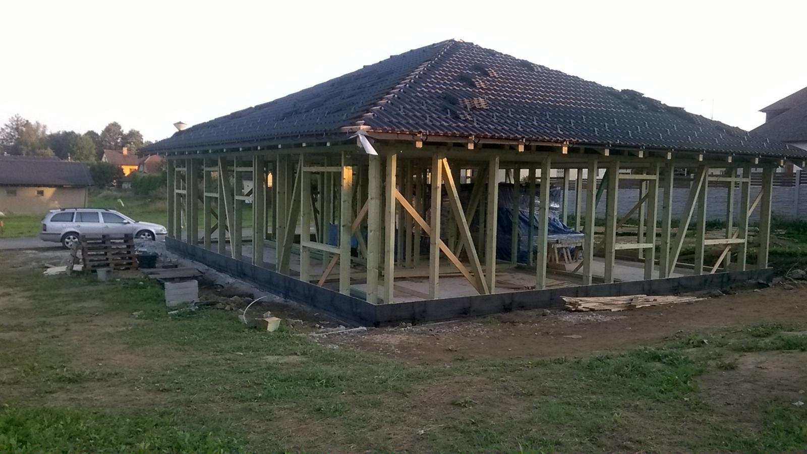 Stavba dřevostavby - Obrázek č. 12
