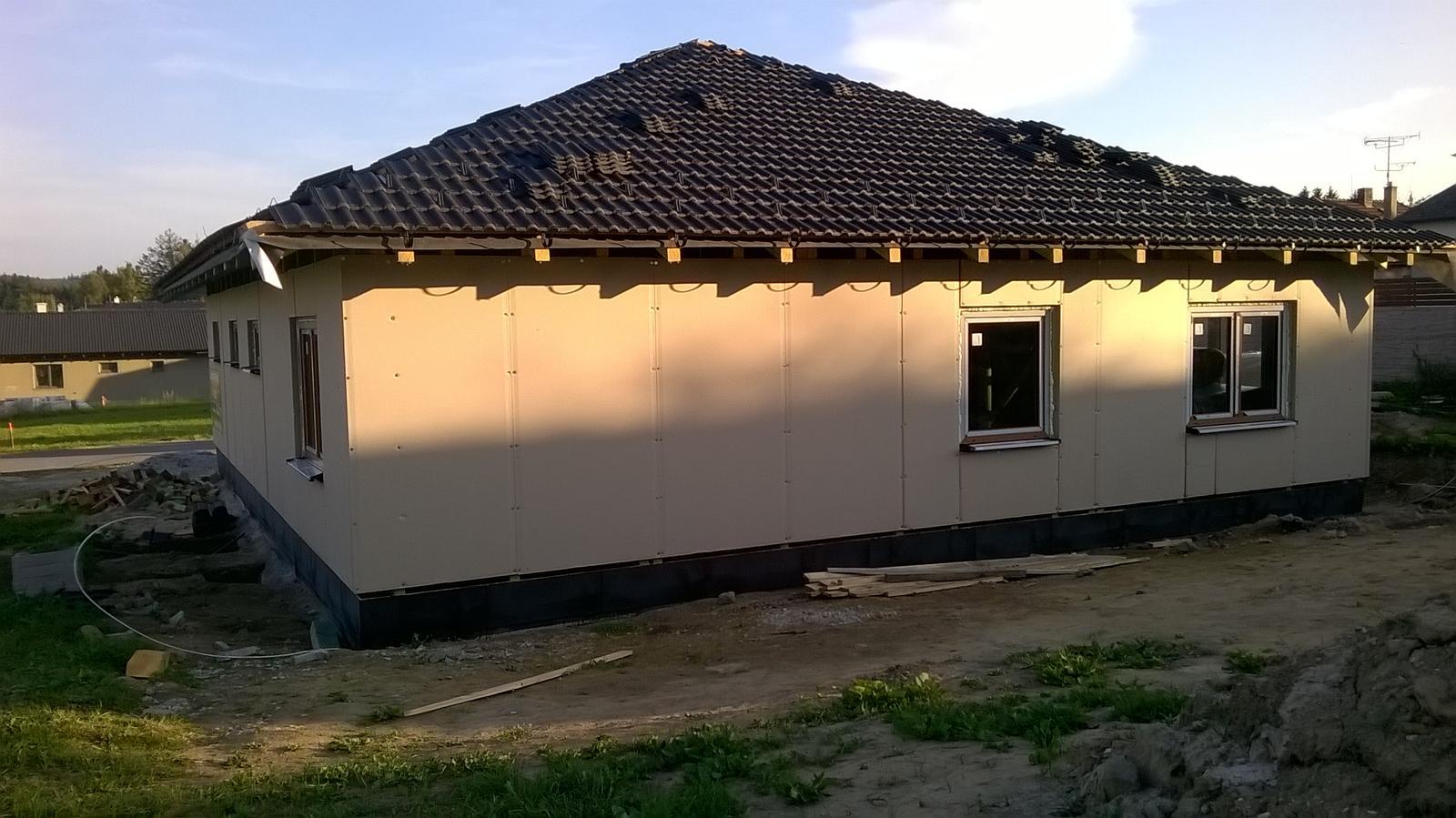 Stavba dřevostavby - Obrázek č. 13