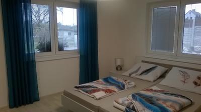 Nové závěsy do ložnice