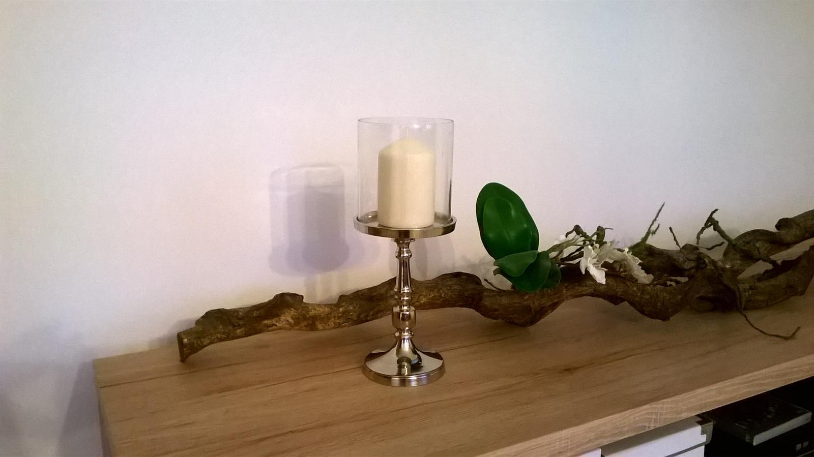 Stavba dřevostavby - Tak tomuhle svícnu jsem neodolala