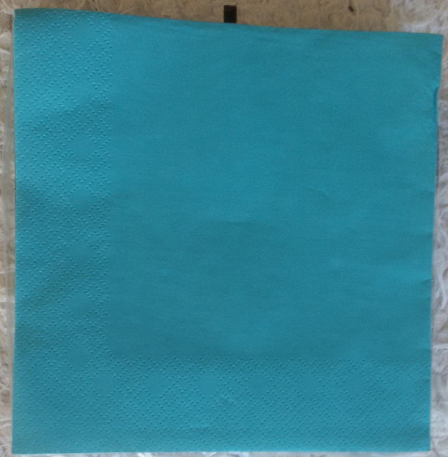 tyrkysové, mint ubrousky - Obrázek č. 1
