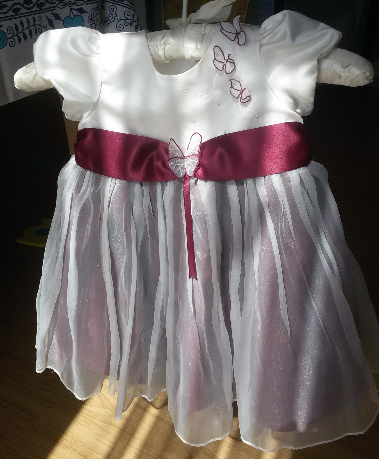 šaty pro družičku vel 80 - 86 Wedding collection - Obrázek č. 1