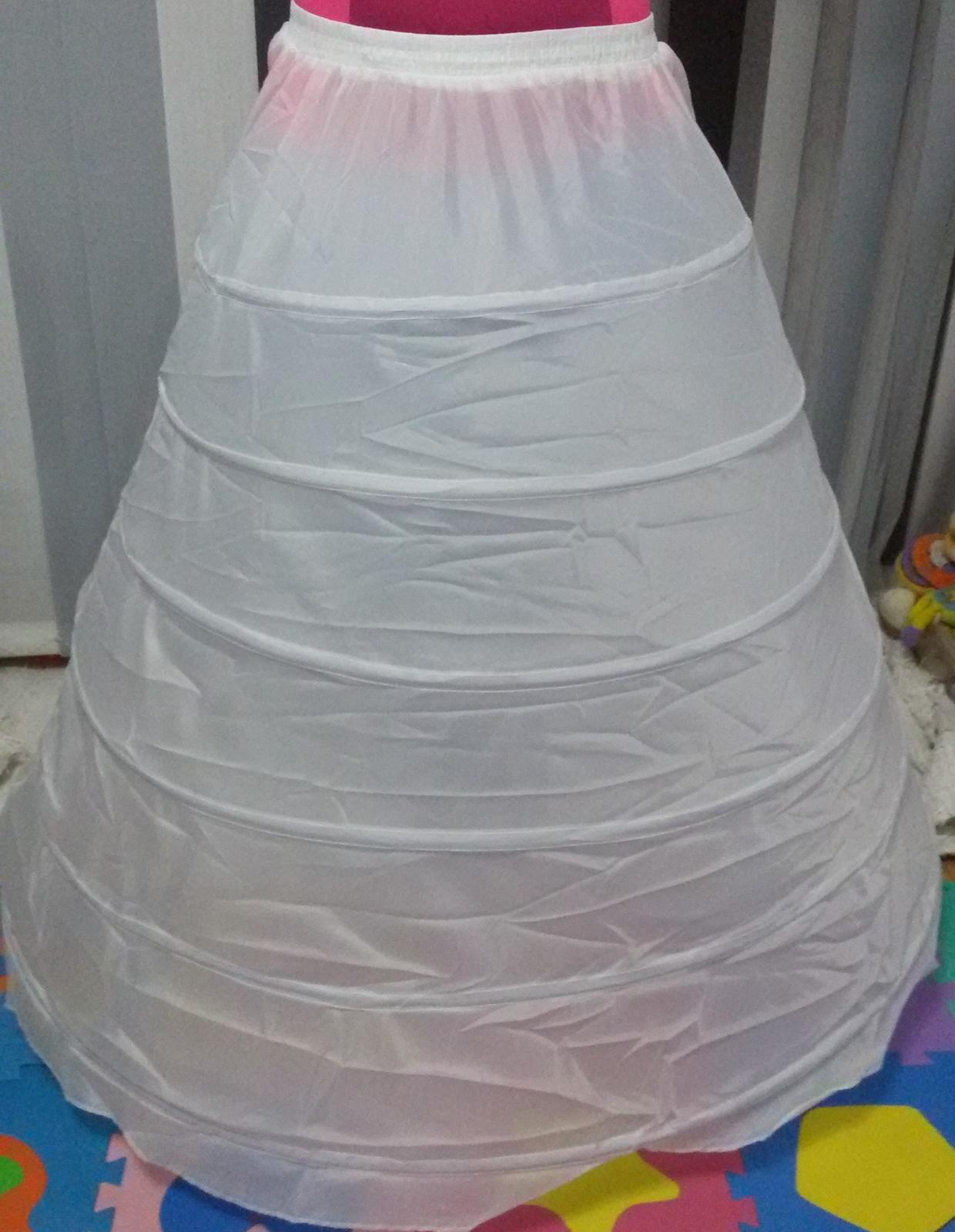 6 ti kruhová spodnička spodnice nepoužitá - Obrázek č. 2