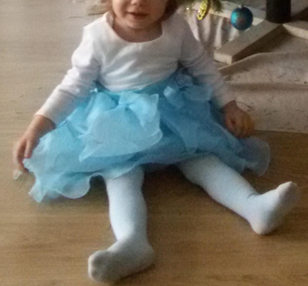 šaty pro princeznu od 8 měsíců do 2 let - Obrázek č. 2