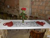 Ručně dělané stoly na svatbu či oslavu,