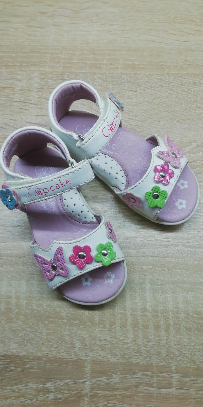 Sváteční sandálky - Obrázek č. 1
