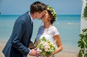 svatba v Itálii u moře,