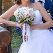 Princeznovské svatební šaty - 38, 38
