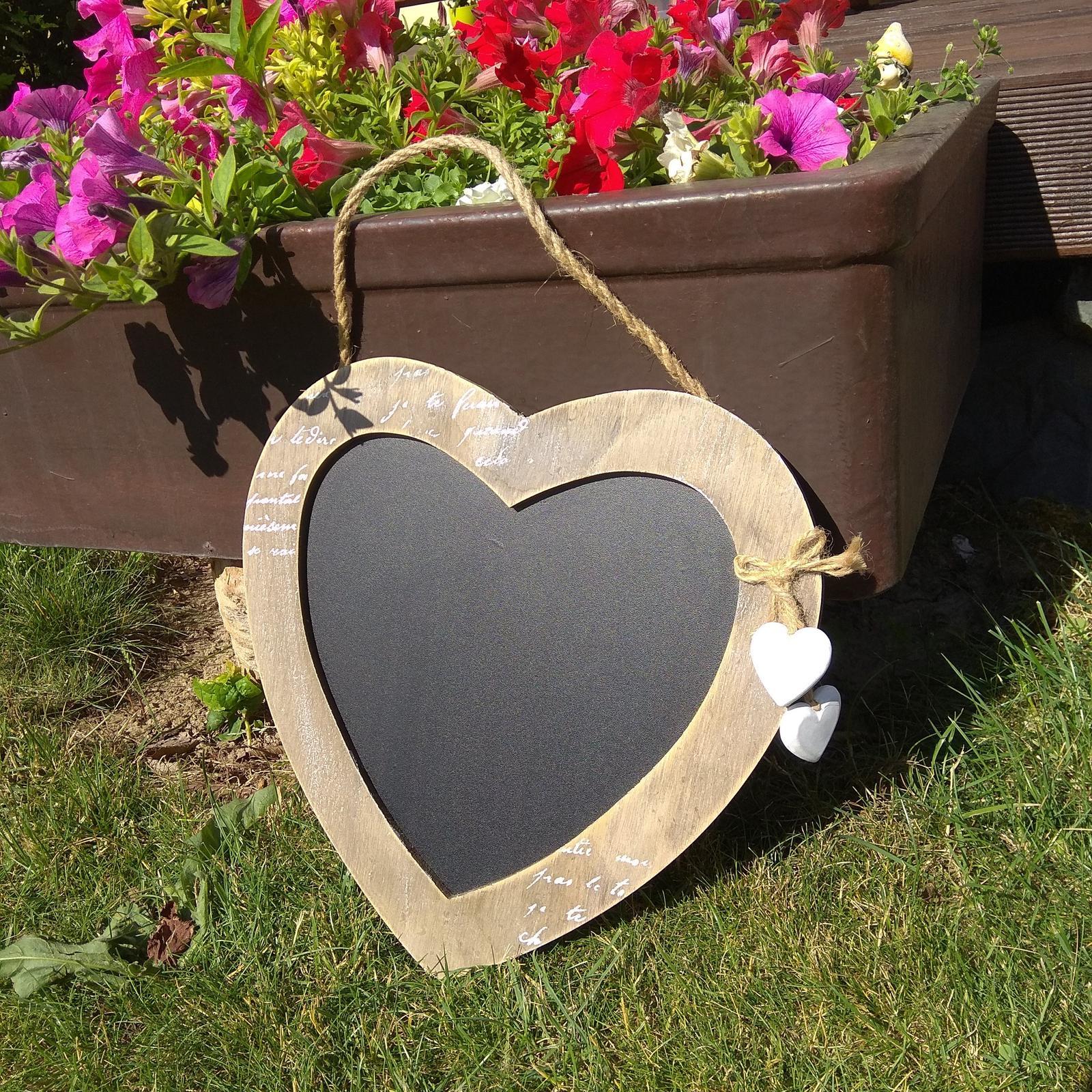 Tabule ve tvaru srdce - Obrázek č. 1