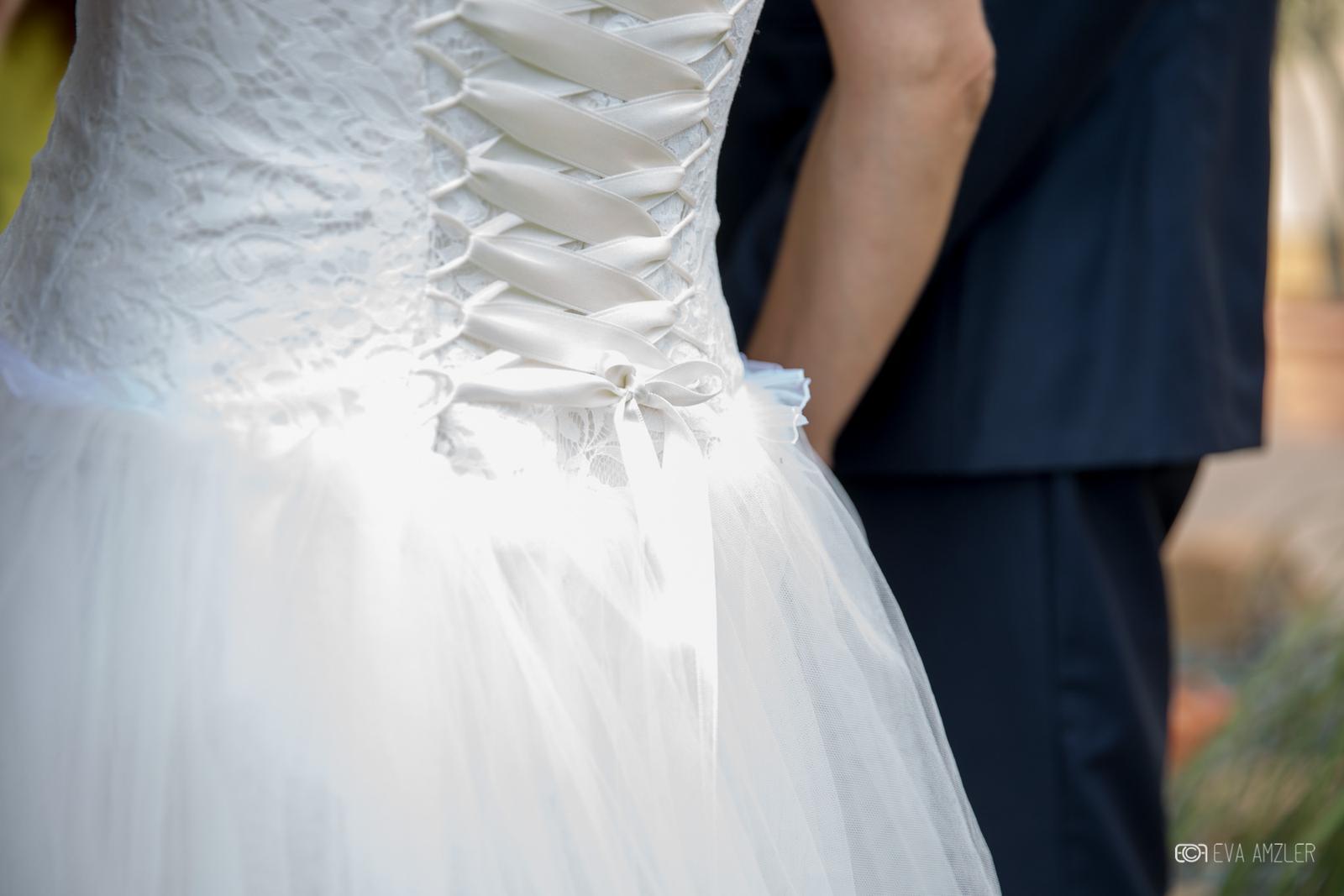 Jemné svadobné šaty 36-38 - Obrázok č. 2