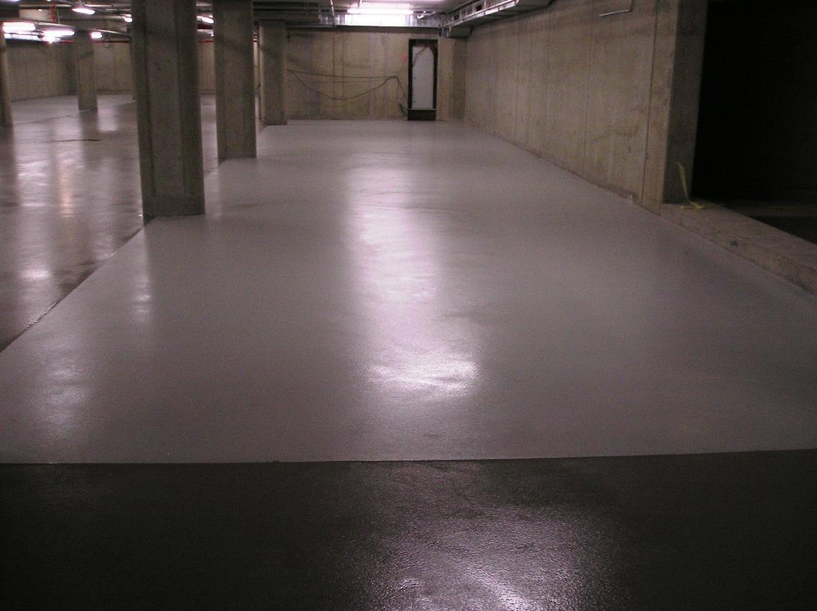 Typy & Tipy: Epoxidove podlahy (nejen) pro aplikátory - 6. EP stěrka – EPOSTYL 521-01 – strukturovaná, protikluzná - garáže