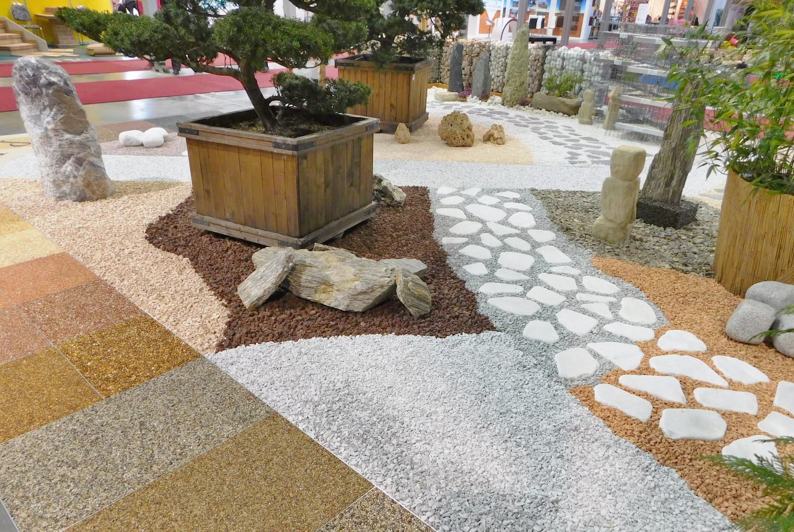 Kamínkový chodníček CHS EPODUR STONE - možnosti desénů a tvarů - Přírodní materiály, gabionový plot, kamení a kamínky...design pro vaši zahradu