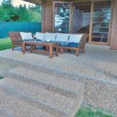 Složité tvary pro konvenční materiály? Kamenný chodníček s materiálem ze Spolchemie nabízí řešení.