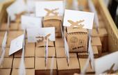 Krabička na dáreček pro svatebčany. ,