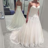 """Prekrásne šaty odtien """"Blush"""", 38"""