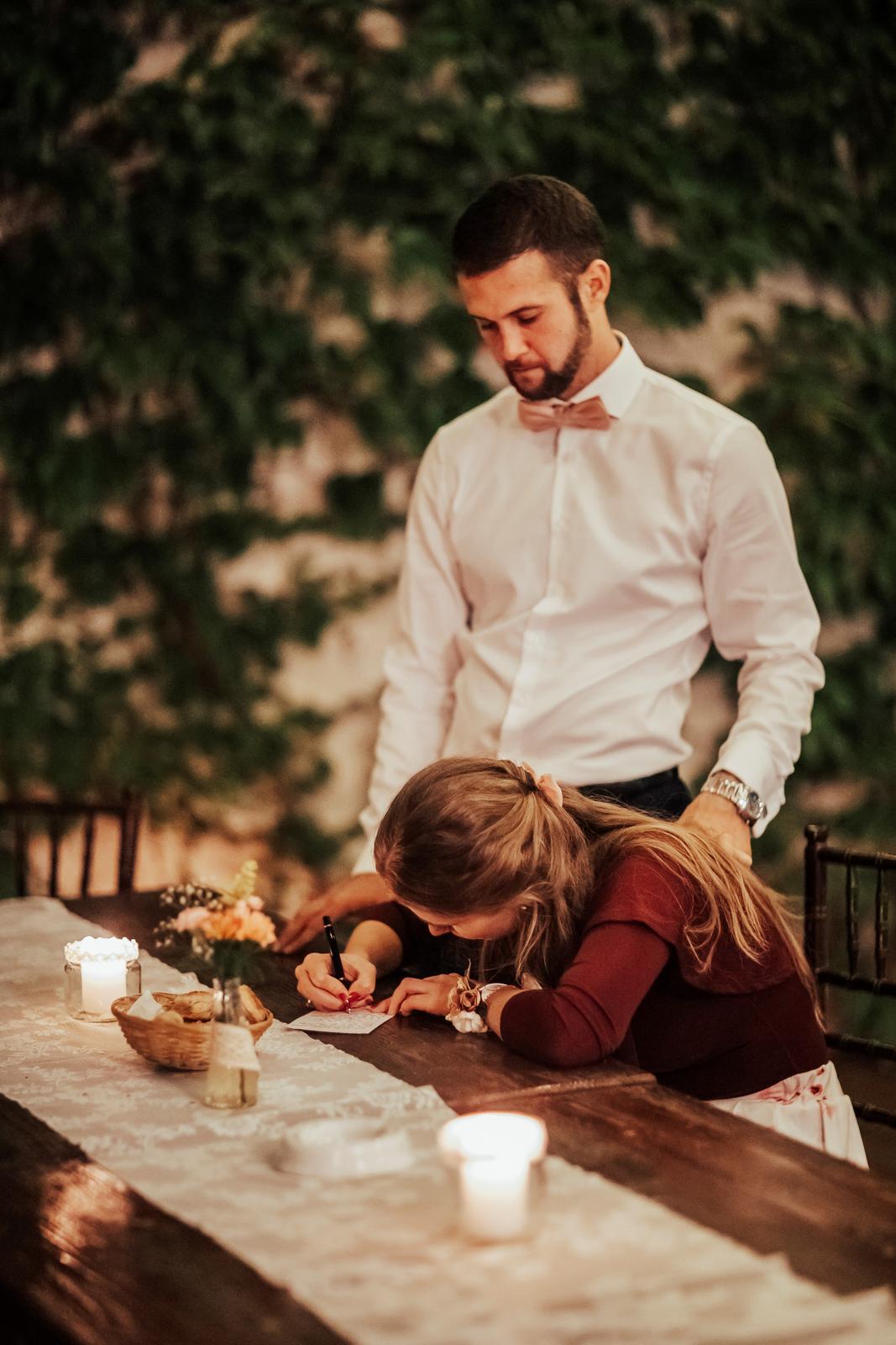 Zuzana{{_AND_}}Tomáš - Písanie odkazu pre novomanželov