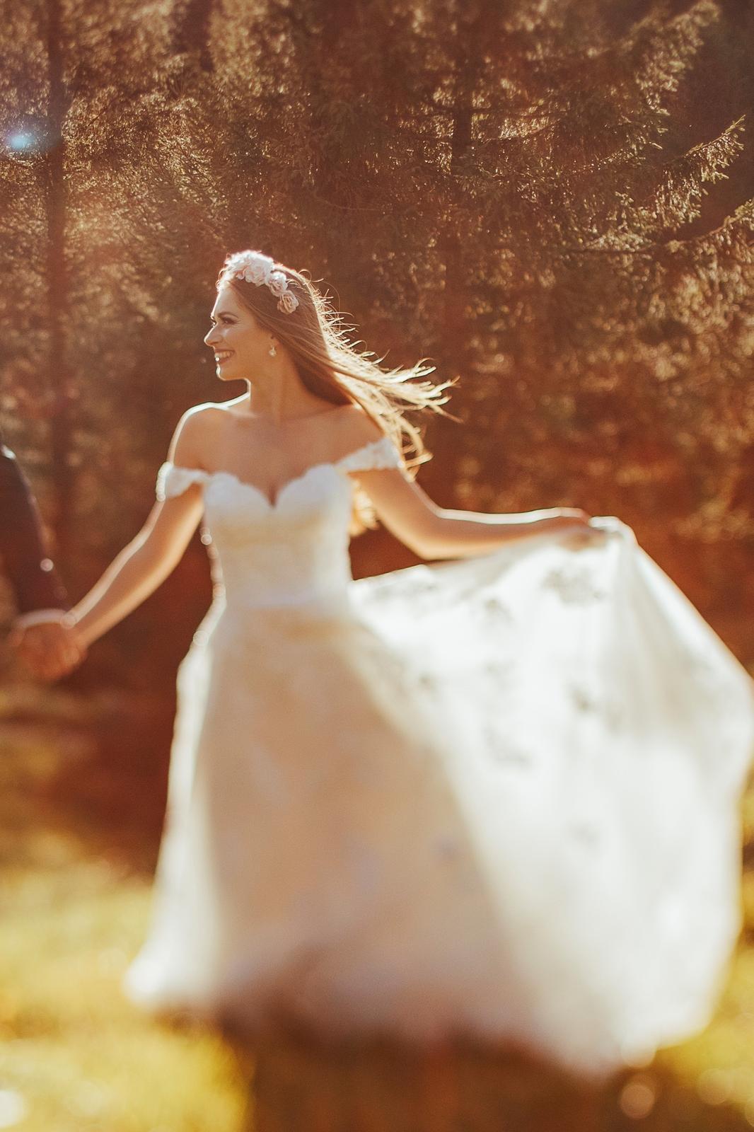 Svadobné šaty XS/S, ivory - Obrázok č. 1