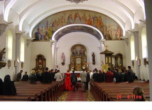 """Aďka a Ľuboško - tak v tomto kostolíku v Sielnici (okr. Zvolen) si poviem """"Áno"""""""