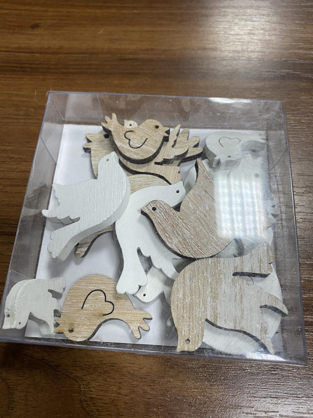 Drevené holubice  - Obrázok č. 1